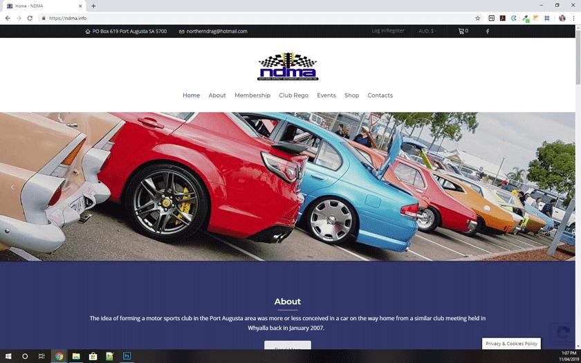 Norther District Motorsport Association Inc